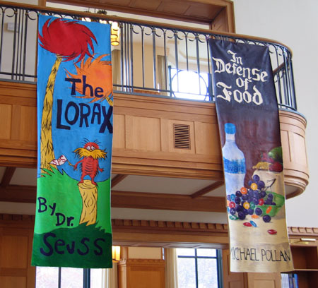 School Library Banners Circus Tent Banners