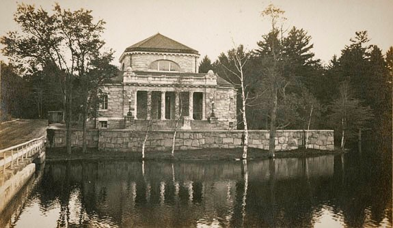 Before Ohrstrom Library there was Sheldon Library - this photograph was taken 100 years ago across Library pond. It is from a personal album of photos taken around Concord, NH. #ohrstromlibrary #ohrstromlibrarydigitalarchives #tbt #tbthursday #throwbackthursday #throwback #library #librariesofinstagram #sheldon #sheldonlibrary #millville #concordnh #iamsps #spshistory