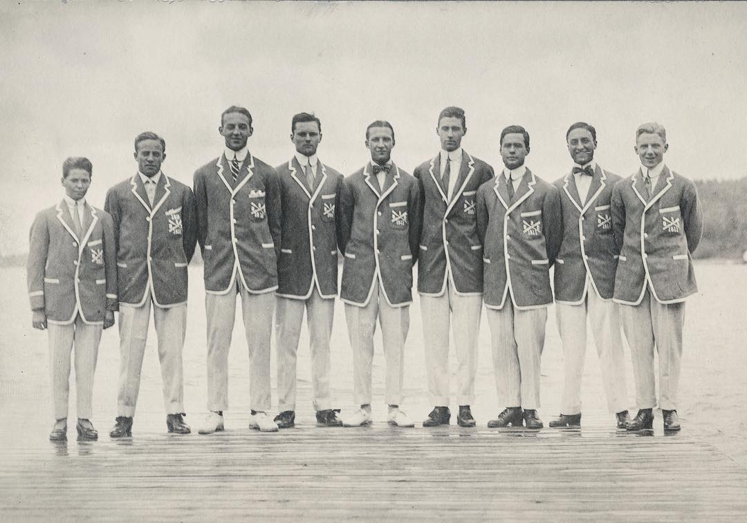The Shattuck crew team of 1911 on the boathouse dock with Long Pond behind them. SPS Alums everywhere are dusting off their old crew blazers in preparation for Anniversary Weekend – only two weeks away! #ohrstromlibrary #ohrstromlibrarydigitalarchives #shattuck #boating #boatingclub #crew #1911 #crewblazer #boatingblazer #anniversary #anniversaryweekend #throwback #throwbackthursday #tbt #iamsps